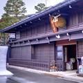 Photos: 飛騨古川 蒲酒造場と雪像ろうそく