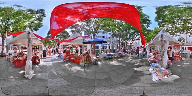 Photos: シズオカ カンヌウィーク 街角のマルシェ 360度パノラマ (2012年5月26日)
