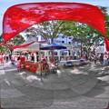 シズオカ カンヌウィーク 街角のマルシェ 360度パノラマ (2012年5月26日)
