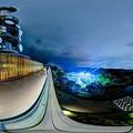 Photos: 日本平 夢テラス 展望回廊 葵区・駿河区側 夜景 360度パノラマ写真