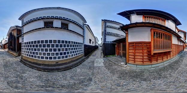 倉敷美観地区 360度パノラマ写真(1)