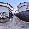 倉敷美観地区 360度パノラマ写真(2)
