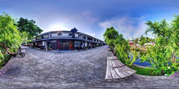 倉敷美観地区 360度パノラマ写真(5)