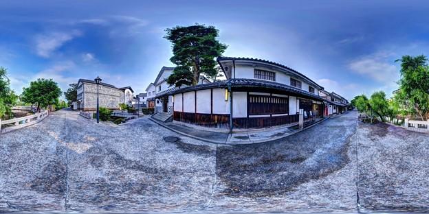 倉敷美観地区 360度パノラマ写真(6)