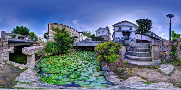 倉敷美観地区 360度パノラマ写真(7)