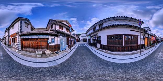 倉敷美観地区 360度パノラマ写真(9)