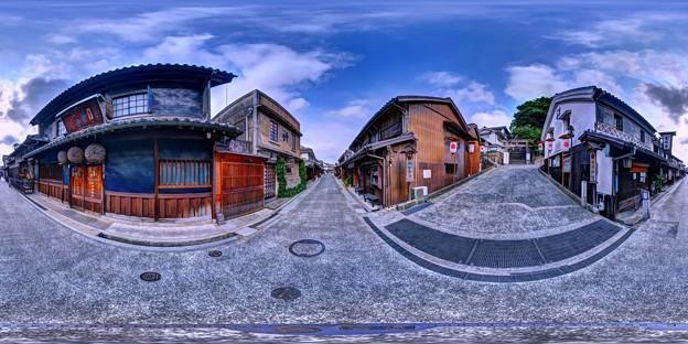 倉敷美観地区 360度パノラマ写真(10)