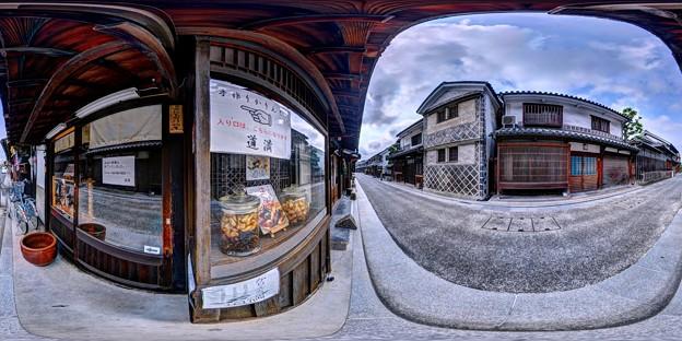 倉敷美観地区 360度パノラマ写真(11)