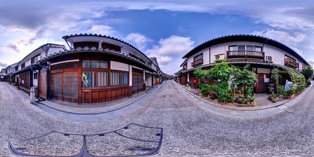 倉敷美観地区 360度パノラマ写真(12)