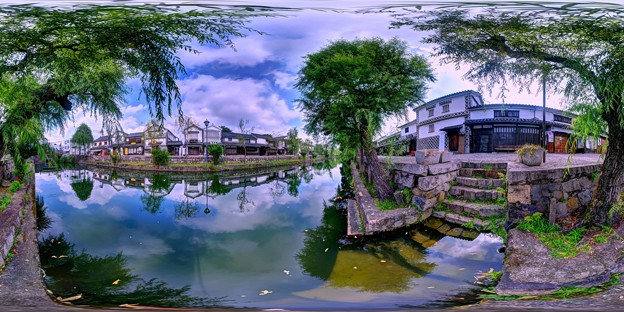 倉敷美観地区 360度パノラマ写真(14)