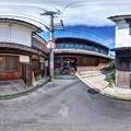 竹原 街並み 360度パノラマ写真(1)