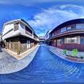 Photos: 竹原 街並み 360度パノラマ写真(2)