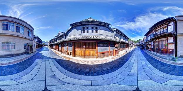 竹原 街並み 360度パノラマ写真(3) 竹鶴酒造前