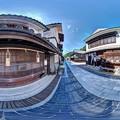竹原 街並み 360度パノラマ写真(4)