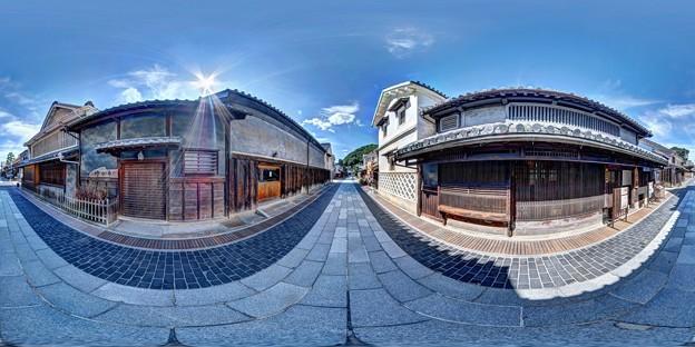竹原 街並み 360度パノラマ写真(5)