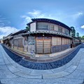 竹原 街並み 360度パノラマ写真(6)