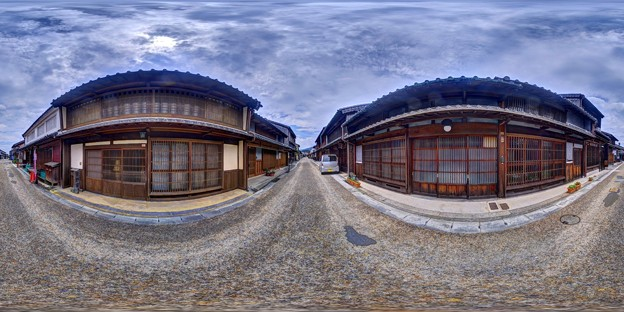 三重・関宿 360度パノラマ写真(4)