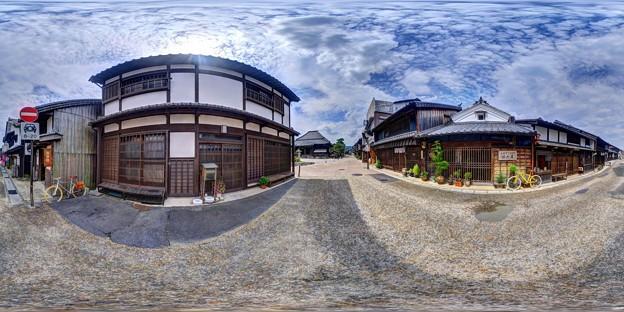 Photos: 三重・関宿 360度パノラマ写真(9)
