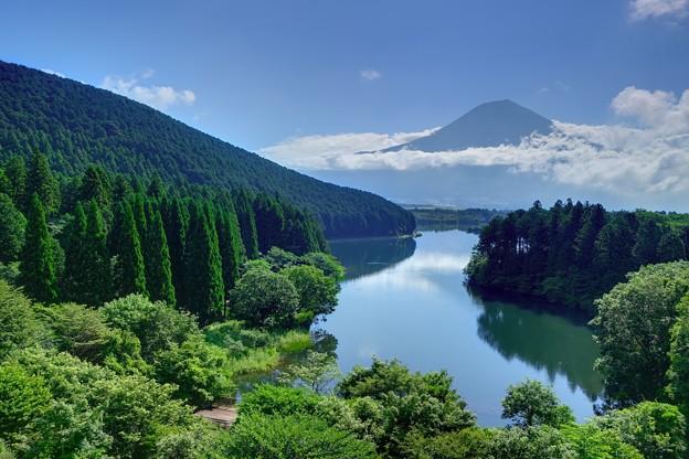 雨あがる、富士山見ゆ