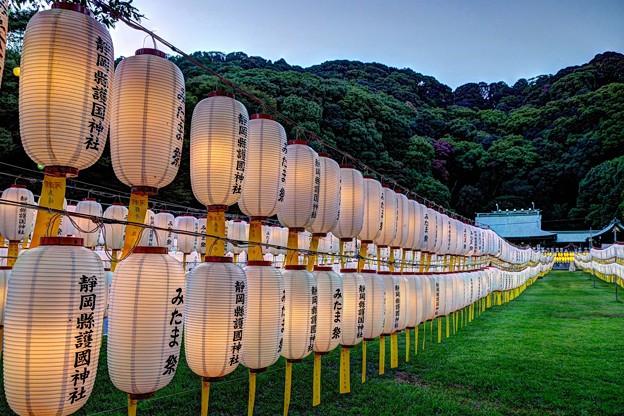 静岡市 護国神社 みたま祭 (1)
