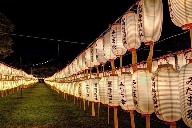 静岡市 護国神社 みたま祭 (2)