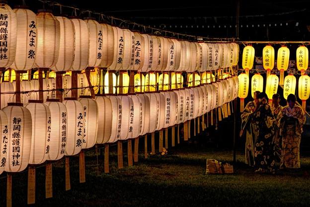 静岡市 護国神社 みたま祭 (4)