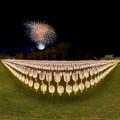静岡市 護国神社 みたま祭 360度パノラマ写真