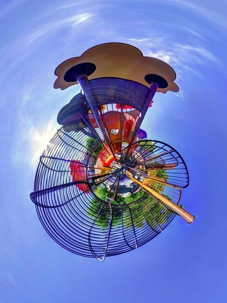 静岡市 森下公園 遊具 Little Planet