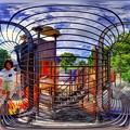 静岡市 森下公園 遊具 360度パノラマ写真 (1)