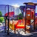 静岡市 森下公園 遊具 360度パノラマ写真(2)