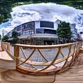 "Photos: 静岡市葵区呉服町 ""ハニカムスクエア""(社会実験) 360度パノラマ写真(4)"