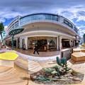 """Photos: 静岡市葵区七間町 """"ハニカムスクエア""""(社会実験) 360度パノラマ写真(3)"""