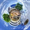 """静岡市葵区 呉服町 """"ハニカムスクエア""""(社会実験) Little Planet"""