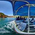 Photos: 井川湖渡船 360度パノラマ写真