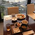 宍道湖眺めながら朝食