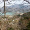 Photos: 眼下に宮ヶ瀬湖を見下ろしながら