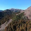 Photos: 少し雪景色した大山
