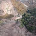Photos: 宝尾根から見た鳥屋待沢堰堤