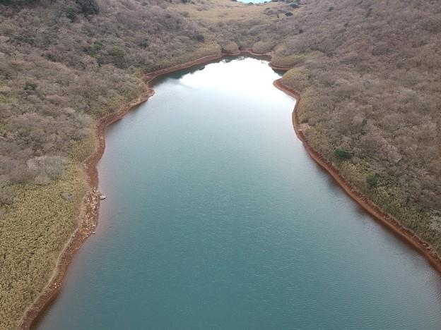 Photos: 空からイモリが池