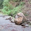 Photos: 大きな岩崩れ