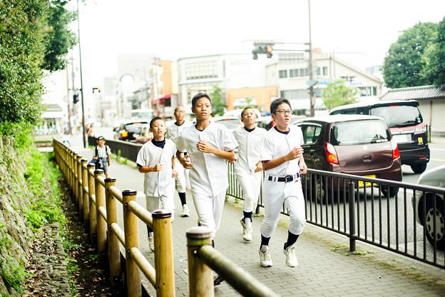 写真: 棒球員