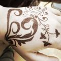Photos: 楽しかったです! タトゥー描いてみました!