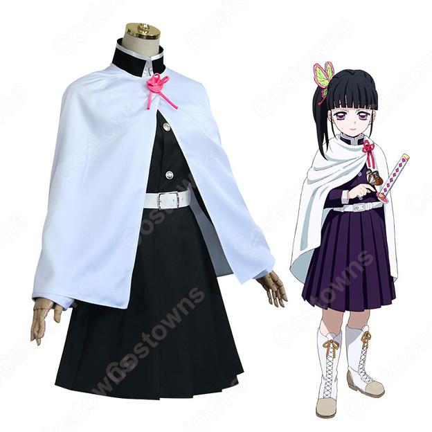 栗花落カナヲ コスプレ衣装 【鬼滅の刃】 cosplay 剣士 隊服