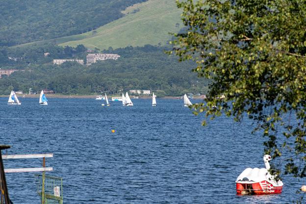 山中湖のKABA