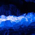 Photos: ライトアップされている氷