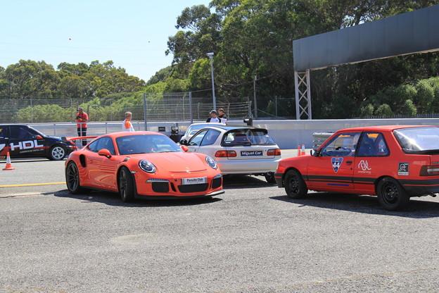 Porsche, Honda, Peugeot