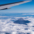 Photos: 頭を雲の上に出し