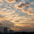 Photos: 古墳公園からの夕景
