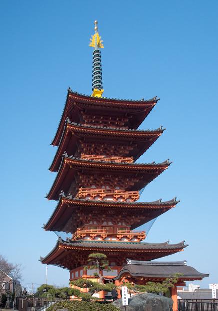 圓福寺 五重塔