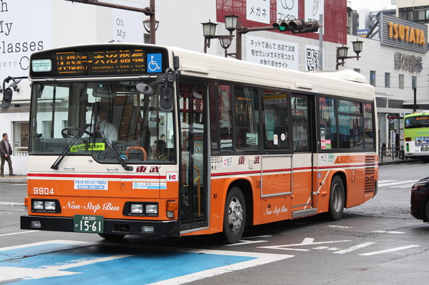 東武バス 9904号車